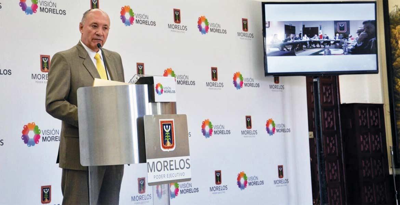 Transparecia. El secretario de Hacienda, Jorge Michel, dio a conocer detalles del proceso de licitación para contratar crédito.