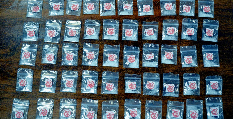 Decomiso. La droga cristal es un compuesto químico que también se le conoce como metanfetamina.