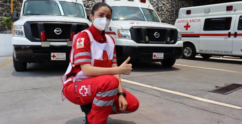 Una vida dedicada a servir y salvar a los demás en la Cruz Roja