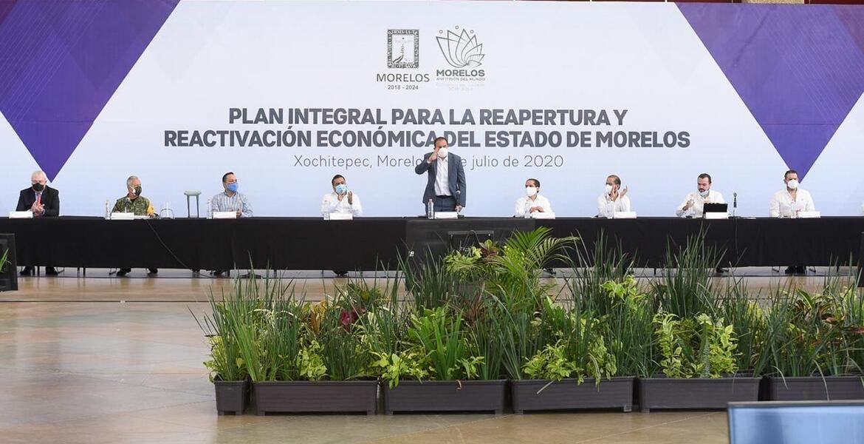 Anuncian plan integral para apoyar a empresas de Morelos por COVID-19