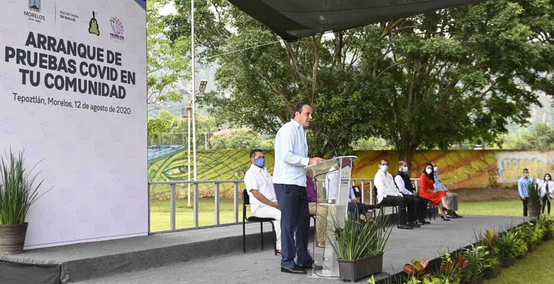"""Arranca en Morelos programa """"Pruebas COVID-19 en Tu Comunidad"""""""