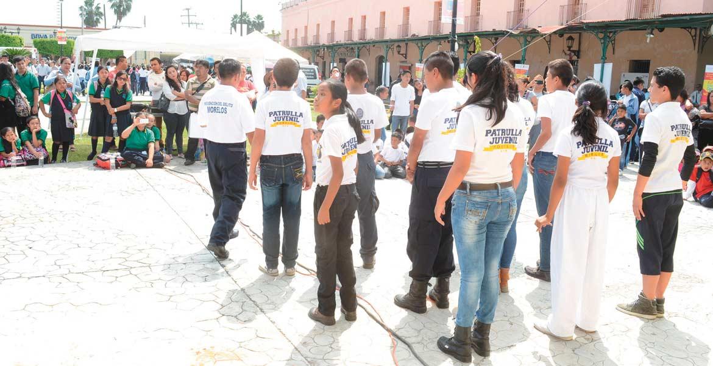 Prevención. El Ayuntamiento de Cuautla busca, a través de actividades físicas y recreativas, alejar a los niños y jóvenes de conductas nocivas para la sociedad.