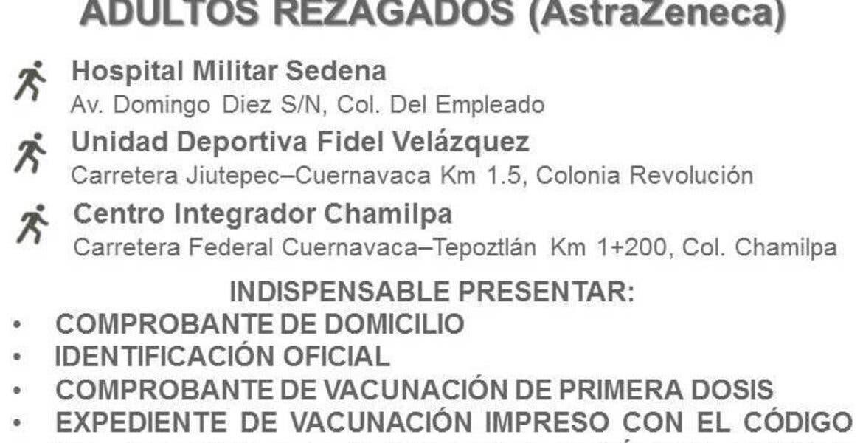 Rezagados podrán seguirse vacunando en Cuernavaca. Aquí los detalles: