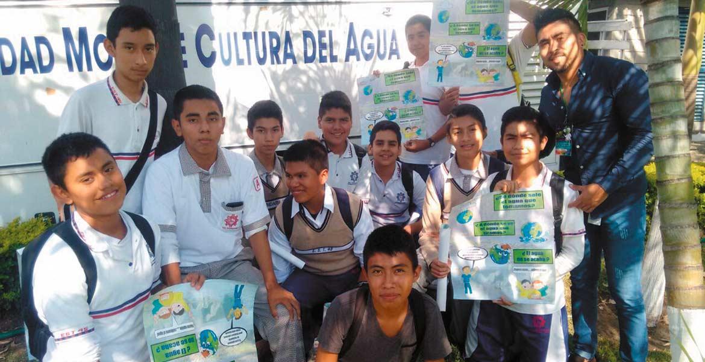 Educación. A través del Espacio de Cultura del Agua, el organismo operador difunde entre niños y jóvenes la importancia del buen uso y cuidado del vital líquido, lo que se reforzará en la Semana Cultural del Agua, a partir del lunes 13 de marzo.