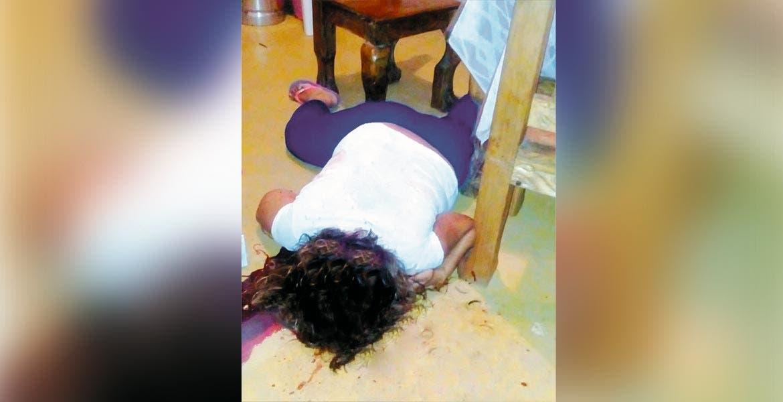 Homicidio. María Guadalupe fue asesinada a balazos en su casa en la colonia Los Arcos.