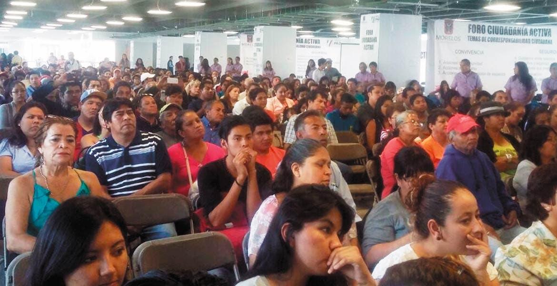 Participación. Alrededor de 600 personas fueron las que acudieron al Foro Ciudadanía Activa.