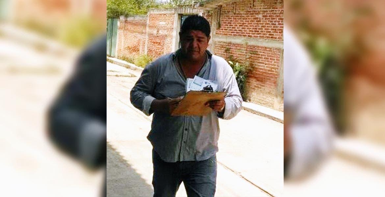Advertencia. Ezequiel Guadarrama Díaz es el defraudador quien pide dinero a nombre de la Comisión Federal de Electricidad.