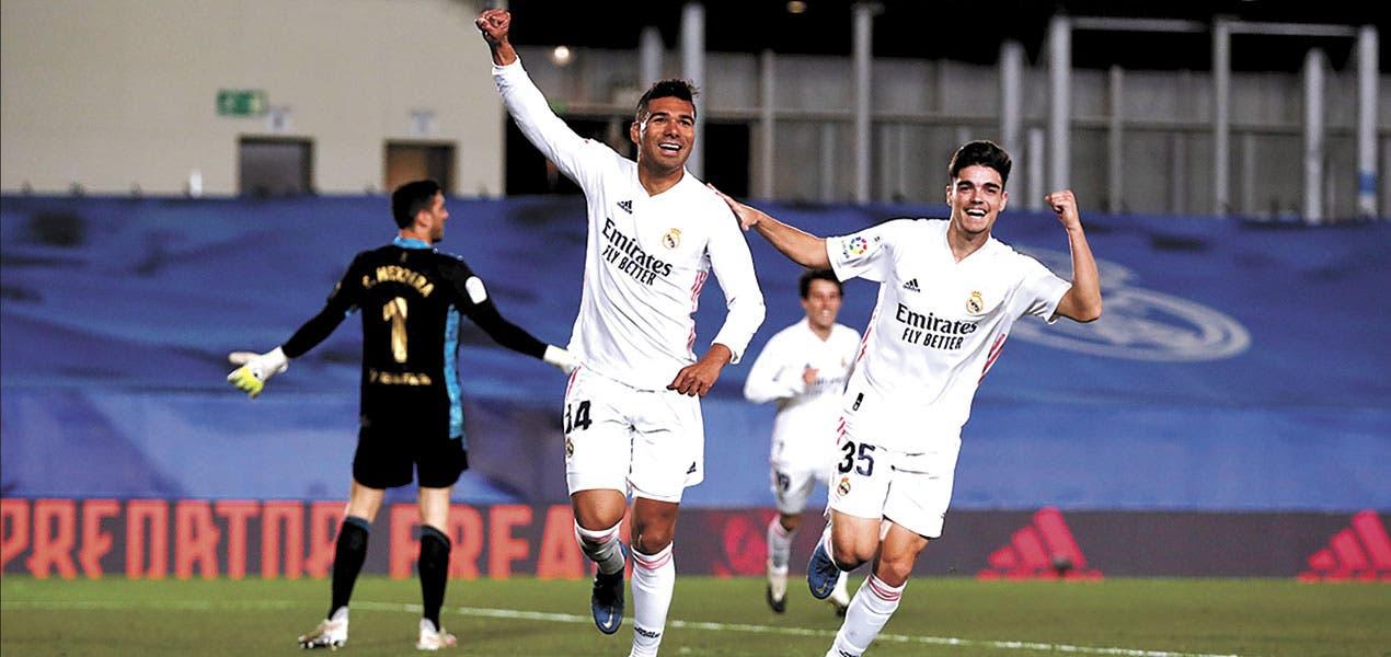 Se aferra el Madrid al Atlético