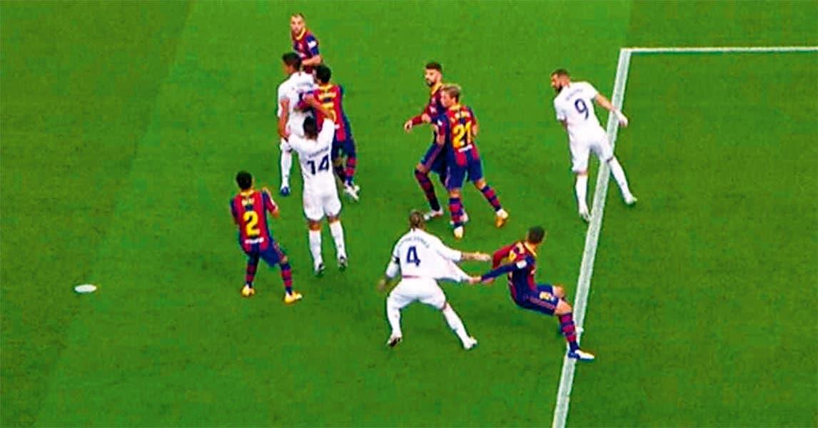 Vence Real Madrid al Barcelona, en el clásico