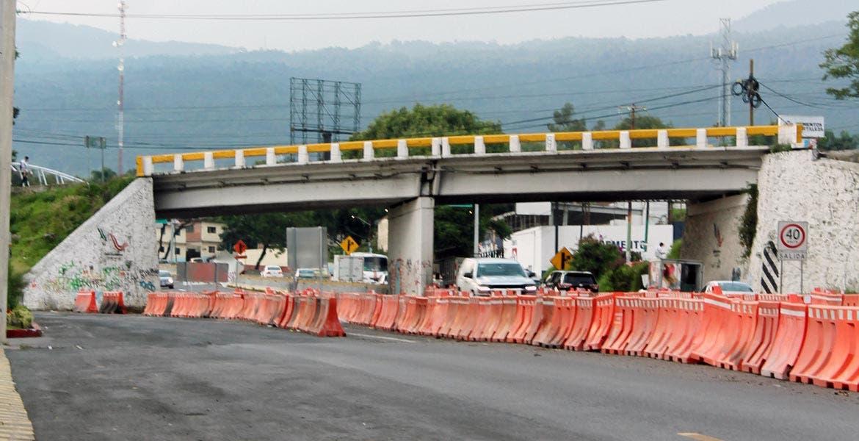 Derribo. Según el plan, a las 23:59 horas de hoy, comenzará el derribo del puente de Chamilpa.