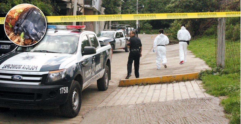 Diligencias. Peritos en criminalística realizaron una inspección en la escena del crimen y ordenaron el levantamiento de los restos.