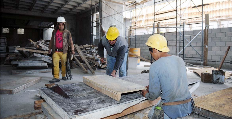 Sectores. La construcción es uno de los sectores donde se han abierto fuentes de trabajo