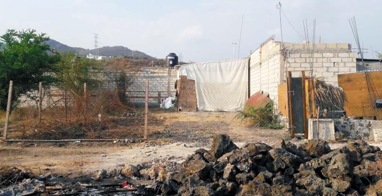 Inmueble. Una casa de la colonia Joya de Dios, de Yautepec, usada para desvalijar vehículos robados en los estados de la zona centro del país, fue asegurada por ministeriales.