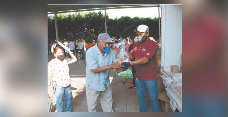 Beneficia DIF Morelos a comunidades de Yautepec con despensas