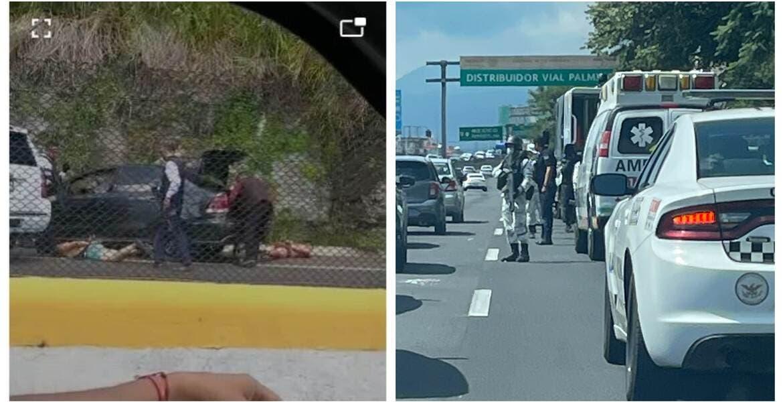 Balacera en la Cuernavaca-Acapulco; hay dos hombres detenidos
