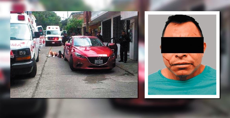 Captura. Jesús Arturo fue aprehendido por el crimen de Pablo Moreno.