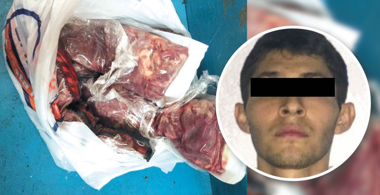 Por segunda vez en una semana, un hombre fue detenido por robar paquetes de carne de un super