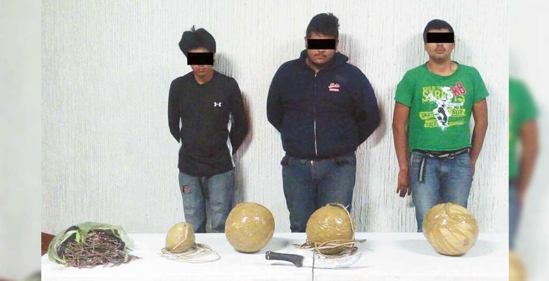 Implicados. Cuatro sujetos fueron detenidos por planear atentar contra funcionarios.