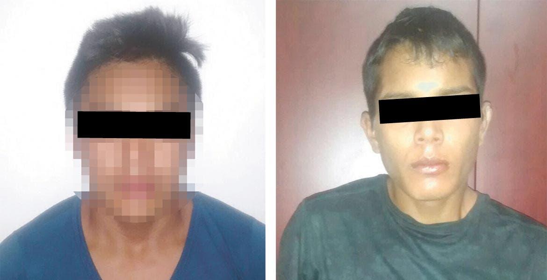 Aprehensión. Adrián y Alejandro están siendo investigados por el asesinato de los policías de Zacatepec, ocurrido el lunes en la noche.