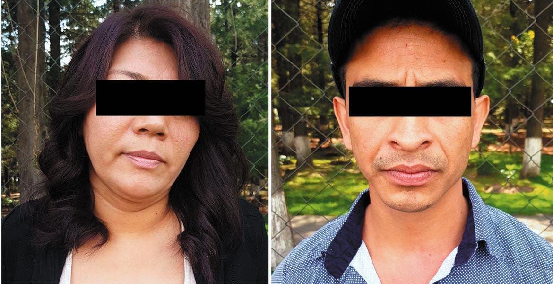 Captura. Alejandra y Juan Ignacio narcos que operaban en la zona Sur de Morelos, fueron detenidos en Toluca, Estado de México.