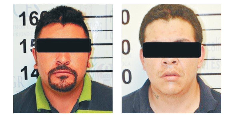Plagiarios. Dos hombres fueron detenidos en Huitzilac cuando se dirigían a la Ciudad de México, tras secuestrar el domingo a una pareja.