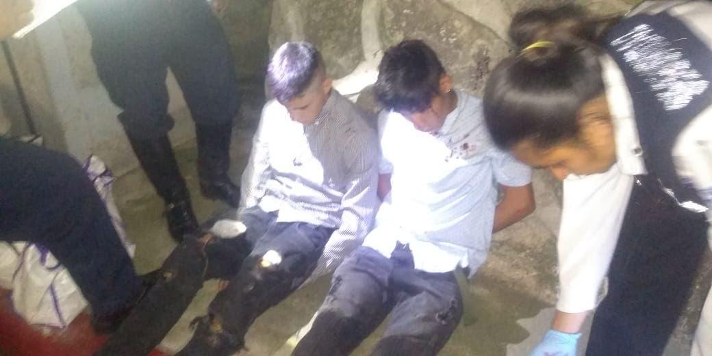 Confirman 2 detenidos por el atraco en Plaza, de Cuernavaca.