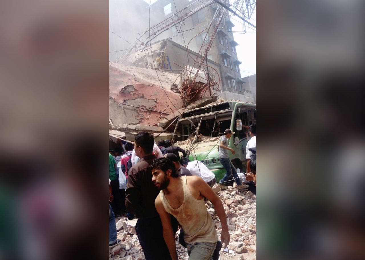 Morelos confirma 64 muertos por sismo de 7.1 grados