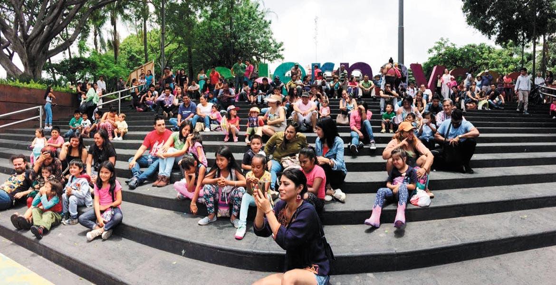 """Obra. La puesta en escena de """"El Nacimiento de un payaso"""" se pudo apreciar de forma gratuita en el Centro Cultural Jardín Borda."""
