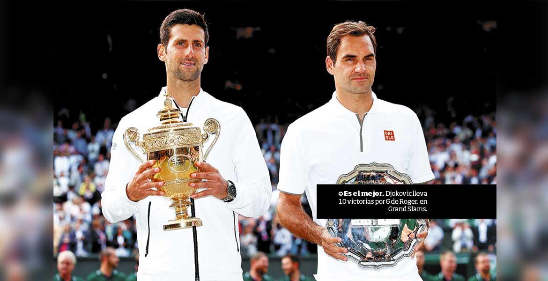 Djokovic acabó con el reinado de Federer en Wimbledon