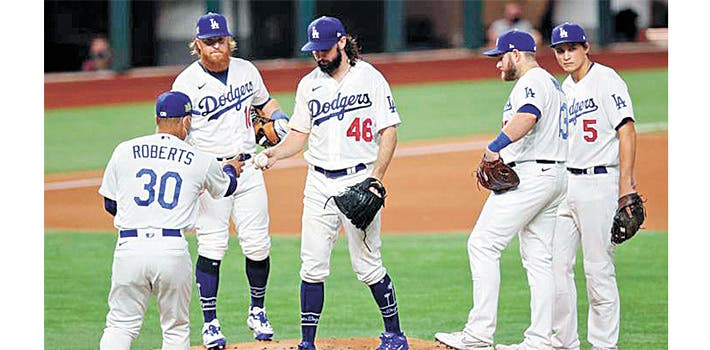 Disputan Dodgers y Tampa Bay sexto juego
