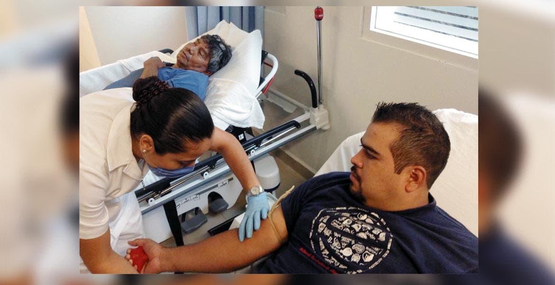 Es importante. La donación de sangre en el Hospital del Niño y Adolescente Morelense es de vital importancia por los tratamientos.
