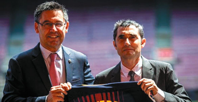 Ernesto Valverde, nuevo técnico del FC Barcelona