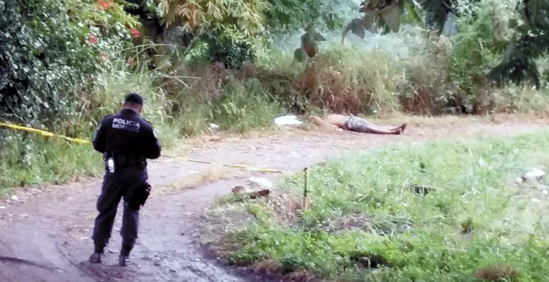 Diligencias. Un hombre fue asesinado y abandonado con un narcomensaje en el paraje La Presa.