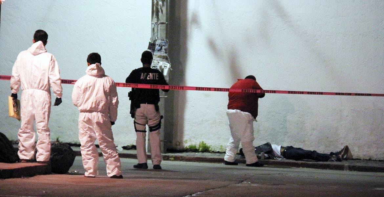 El crimen. Oscar, alias 'El Aborigen', señalado como uno de los distribuidores de droga de la zona Centro de Zapata fue asesinado.