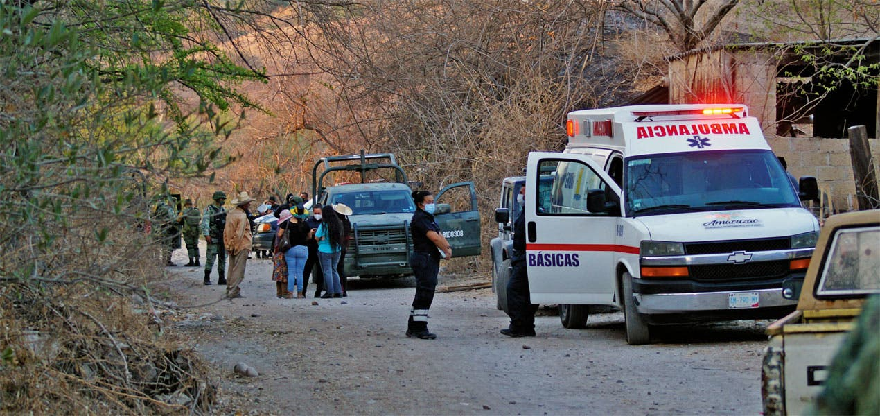 Acribillan a pareja en Amacuzac