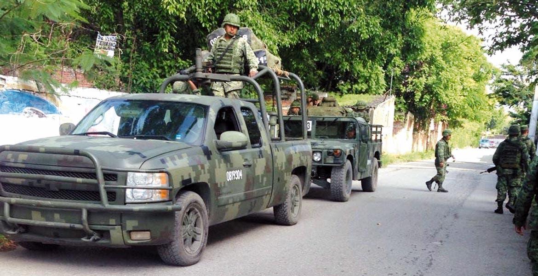 Refuerzan. Elementos del Ejército mexicano han realizado operativos y diversos puntos de revisión en siete municipios, entre ellos Cuernavaca, Jiutepec y Temixco.