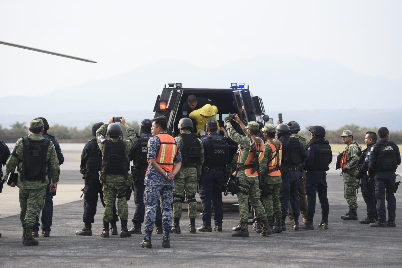 """Hijo de """"El Carrete"""" fue trasladado a penal de Guanajuato; lo acompaña el de Alfonso Miranda"""