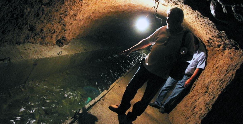 Se recupera. Las lluvias que se han presentado en las últimas s emanas han ayudado a que el manantial del Túnel recupere su nivel.