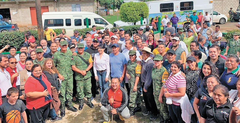 Celebran Jornada de Embellecimiento Urbano en Buena Vista del Monte - Diario de Morelos
