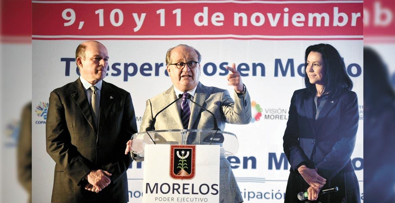Contenido. El Gobernador Graco Ramírez aseguró que el Encuentro Empresarial a realizarse en Morelos servirá para crear una agenda nacional.
