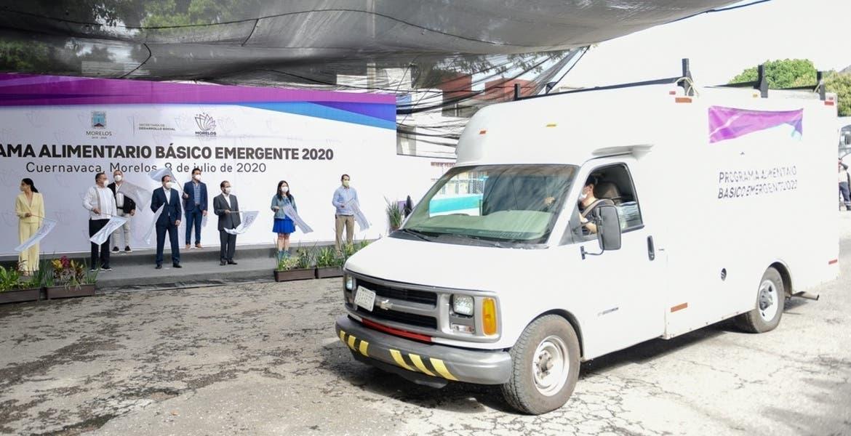 Inicia entrega de despensas en Morelos a familias afectadas por COVID-19
