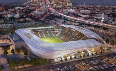 Inauguran estadio de futbol en Los Angeles
