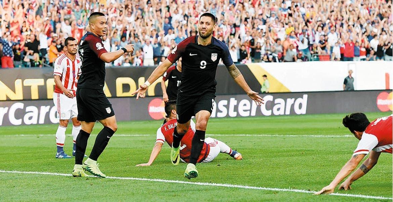 Clint Dempsey. El norteamericano marcó el único gol del juego.