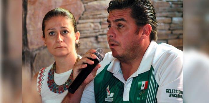 Informan. Francisco García Sesma y Aniko García Sesma, hijos del ex medallista olímpico Francisco García Moreno, exigieron justicia en el crimen de su padre.
