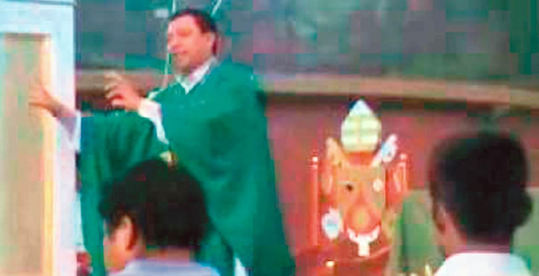 A proceso. El ex párroco Omar quedó formalmente preso, luego de que fuera denunciado por violación, tras golpear y abusar sexualmente de un menor de 12 años.