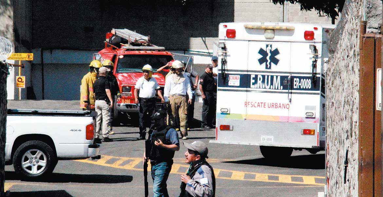 Hechos. Dos mujeres lesionadas fue el saldo de la explosión registrada hace 15 días en esa industria
