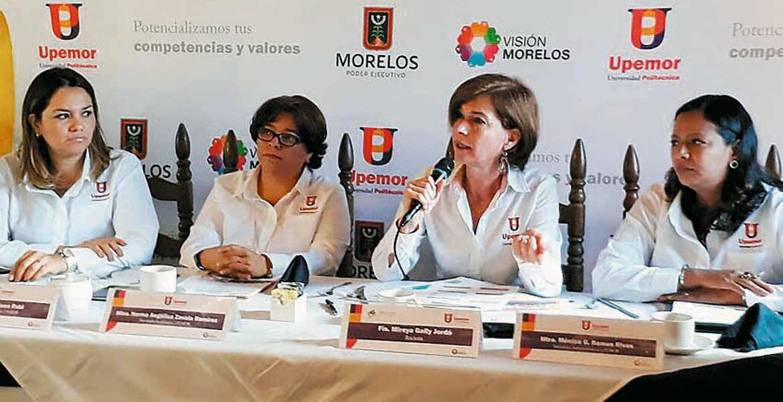 Prevención. Mireya Gally Jordá aseguró que en la Upemor existen protocolos para prevenir conductas violentas de estudiantes.