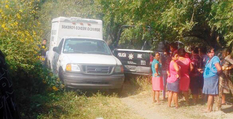 Hallazgo. Un joven que padecía de sus facultades mentales fue estrangulado y abandonado en un terreno baldío, en el poblado de Coatetelco, en Miacatlán.