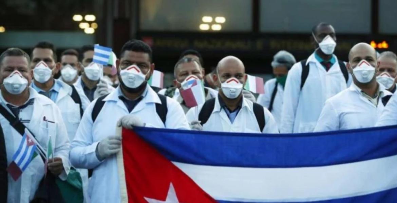 Médicos cubanos llegan a México, pero no prestarán servicio: SRE