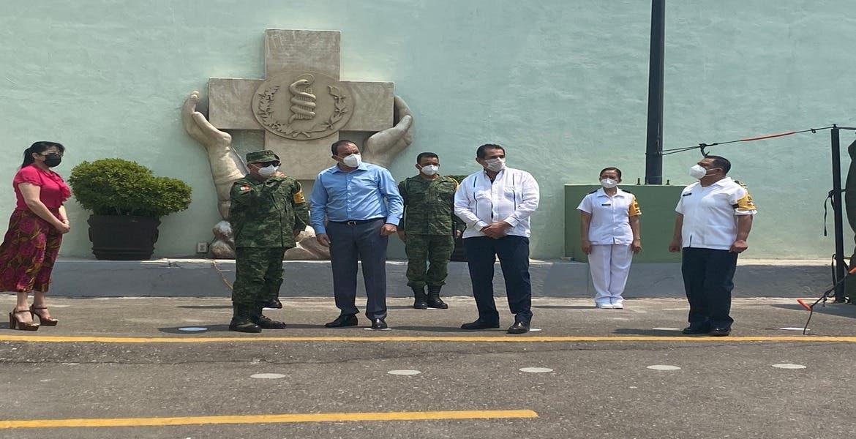 Pone en marcha Cuahtémoc Blanco hospitales militares para atención de pacientes COVID-19 en Morelos
